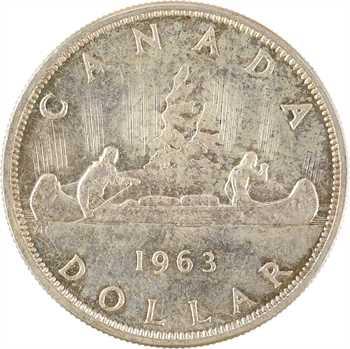 Canada, Élisabeth II, dollar, 1963