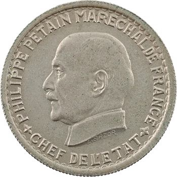État français, 5 francs Pétain, 1941 Paris