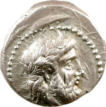 Royaume de Péonie, Lykkeios, tétradrachme, Damastion, c.356-335 av. J.-C.