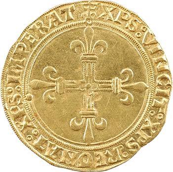Louis XII, écu d'or au soleil (DEI GRACIA), Châlons-en-Champagne