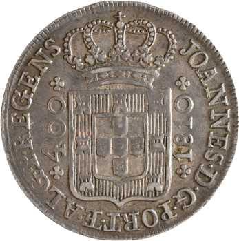 Portugal, Jean, Cruzado ou 400 réis, 1810 Lisbonne