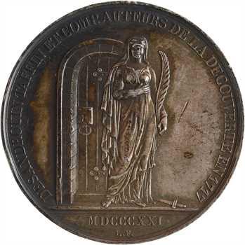 Mines de charbon d'Anzin, Fresnes et Vieux-Condé, jeton de présence aux assemblées des régisseurs, 1821 Paris