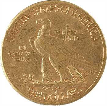 États-Unis, 10 dollars, Tête d'indien, 1911 Denver