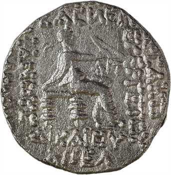 Royaume Parthe, Phraatakes, tétradrachme, Séleucie du Tigre, novembre-décembre 2 ap. J.-C