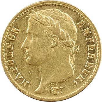 Premier Empire, 20 francs Empire, 1812 Lille