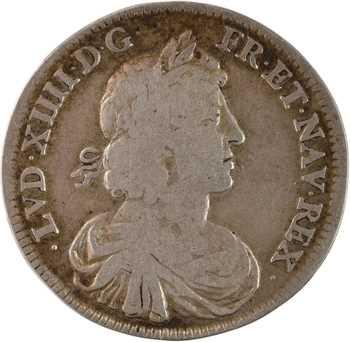 Louis XIV, Charles IV en exil, 1ère occupation française, 1660 Paris