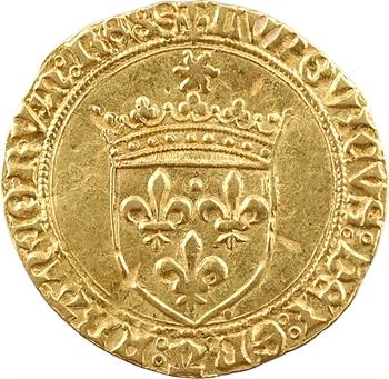 Louis XII, écu d'or au soleil, Troyes