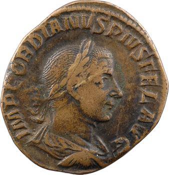 Gordien III, sesterce, Rome, 243-244