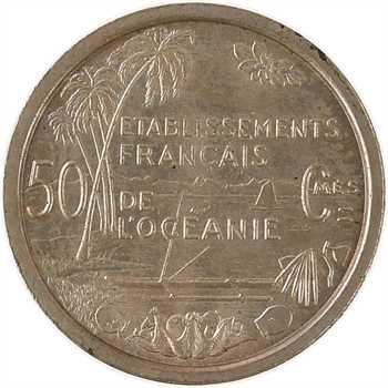 Polynésie (Océanie), essai de 50 centimes, 1949 Paris