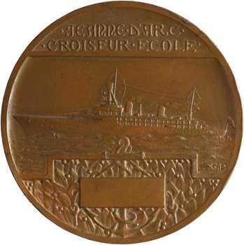 Prud'homme (G.) : le Croiseur école Jeanne d'Arc, 1949 Paris