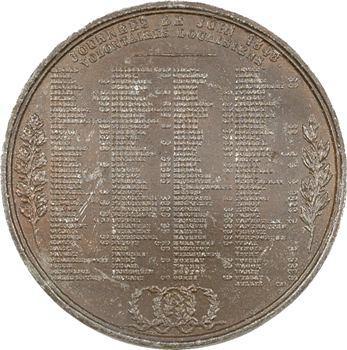 IIe République, Journées de Juin, volontaires de Douai par Depaulis, 1848 Paris