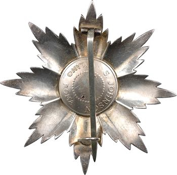 Italie, plaque de Grand Croix de l'Ordre National du Mérite