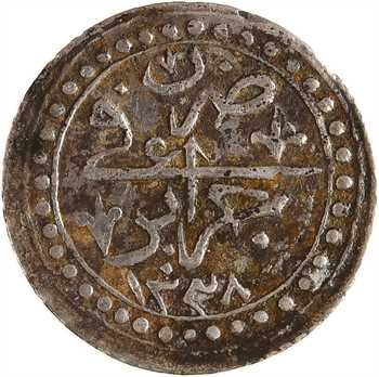 Algérie, Mahmud II, huitième de budju, AH 1238 (1822)
