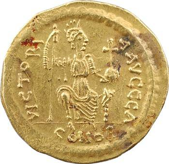 Justin II, solidus, Constantinople, 1re officine, 575-578