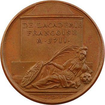Nicolas Boileau-Despréaux, médaille par J. Dassier