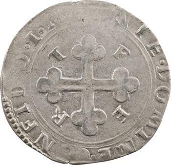 Savoie (duché de), Emmanuel-Philibert, blanc de 4 soldi, 2e type, 1579 Chambéry