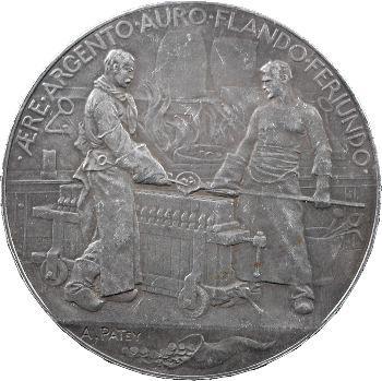 Exposition Universelle 1900, médaille au module de 5 francs, Monnaie de Paris