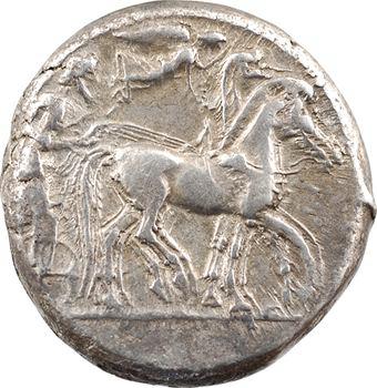 Sicile, Syracuse, tétradrachme, c.485-466 av. J.-C.