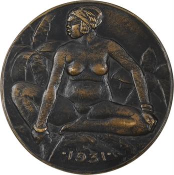 Les Colonies, Exposition Coloniale de Paris 1931, fonte d'Albert Pommier, 1931 Paris, SFAM N° 32