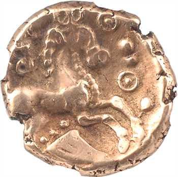 Grande-Bretagne, Catuvellauni et Trinovantes, Addedomaros, statère, 45-25 av. J.-C., NGC Ch XF