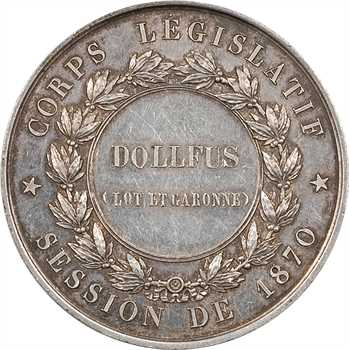 Second Empire, Corps législatif de 1870, Camille Dollfus (Lot et Garonne), 1870 Paris