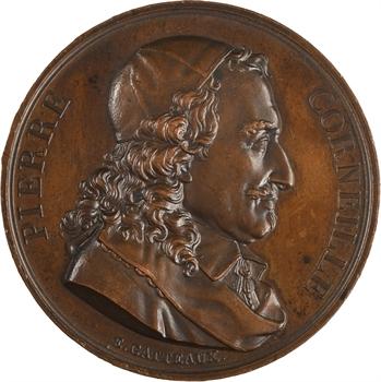 Pierre Corneille, par Gatteaux, 1816 Paris (Galerie métallique des grands Hommes Français)