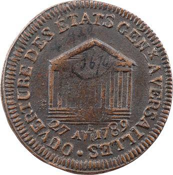 Constitution, ouverture des États généraux, 1789