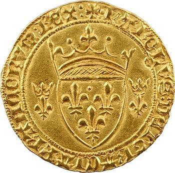 Charles VII, écu d'or à la couronne 3e type, 1re émission, Toulouse