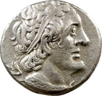 Égypte, Ptolémée II, tétradrachme, Tyr, 262-261 av. J.-C.