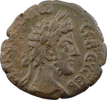 Égypte, Commode, tétradrachme, Alexandrie, An 27 (186-187)