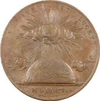 Louis XV, le commencement du règne, uniface, 1716, frappe ancienne ?