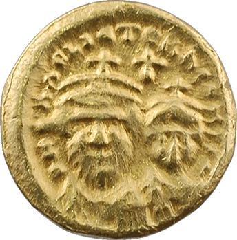 Héraclius et Héraclius Constantin, solidus, Carthage, An 4 = 615-616