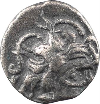 Namnètes, quart de statère à l'hippophore, c.80-50 av. J.-C.