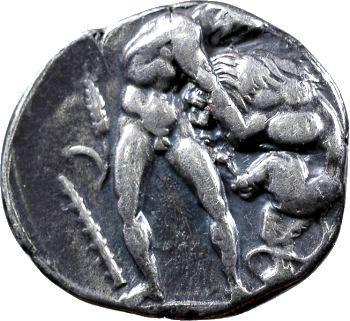 Lucanie, didrachme, Héraclée, c.420-390 av. J.-C.