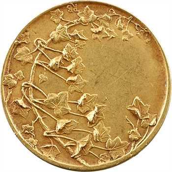 IIIe République, médaille d'or par R. Bouvet, s.d. (après 1880) Paris