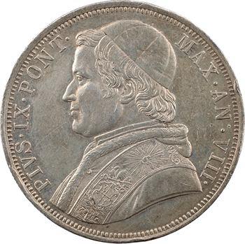 Vatican, Pie IX, scudo, 1853/VII Rome