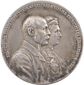 Autriche, François-Joseph Ier, mariage du prince Alois de Liechtenstein et Elisabeth Amalie, 1903