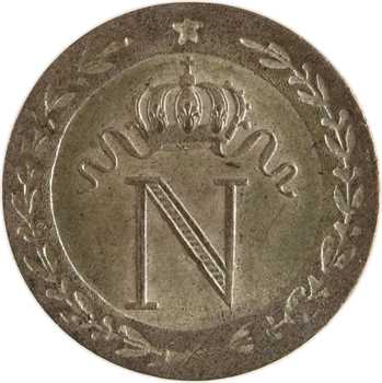 Premier Empire, 10 centimes à l'N couronnée, 1808 Paris