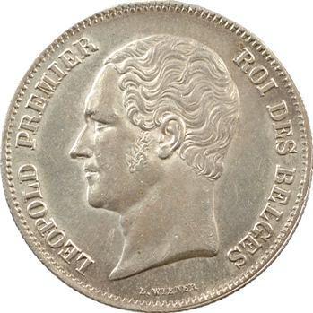Belgique (Royaume de), Léopold Ier, 2 1/2 francs, 1849 Bruxelles