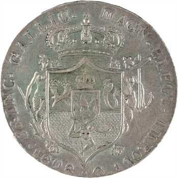 Italie, Naples et Deux Siciles (royaume de), Joseph Napoléon, piastre de 120 grana, 1808