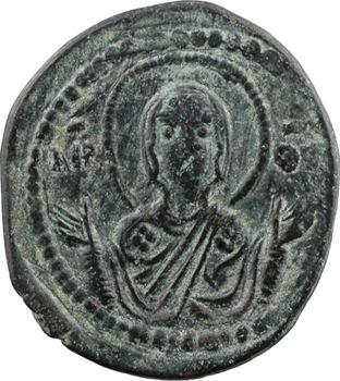 Romain IV ou fin XIe siècle, follis anonyme, classe G, Constantinople, s.d. (c.1068-1071)