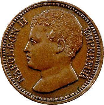 Napoléon II, essai de 3 centimes, 1816 (1860) Bruxelles