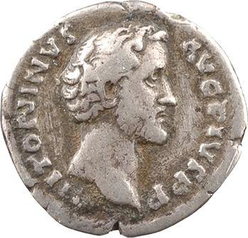 Antonin le Pieux et Marc Aurèle César, denier, Rome, 139