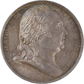 Louis XVIII, Chambre de Commerce de Bordeaux, par Depaulis, 1821 Paris