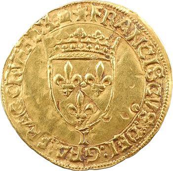 François Ier, écu d'or au soleil 12e type, s.d. Limoges