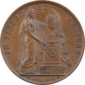 Assassinat du duc de Berry, la France en deuil, s.d. (1820) Paris