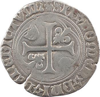 Louis XII, grand blanc à la couronne (larme), Châlons-en-Champagne