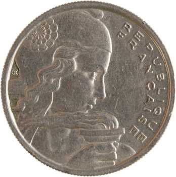 IVe République, 100 francs Chouette, 1958 Paris