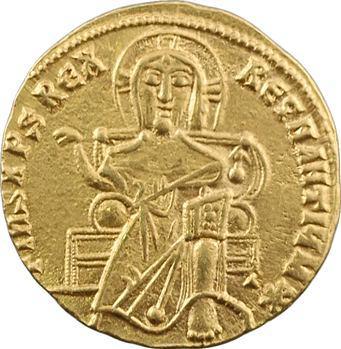 Constantin VII, Romain Ier et Christophore, solidus, Constantinople, c.922-931