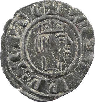 Italie, Sicile (royaume de), Frédéric II, denier ou obole, c.1243 Messine